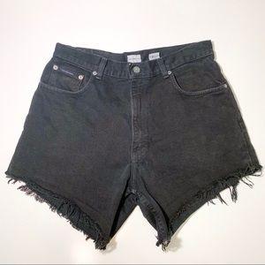 Calvin Klein Vintage High-Waisted Cutoff Short